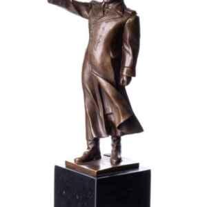 Бронзова фигура на Сталин с подложка от гранит,  внос от Германия