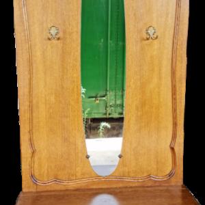 Портманто от дъб с огледало в стил Луи 14-ти внос от Белгия