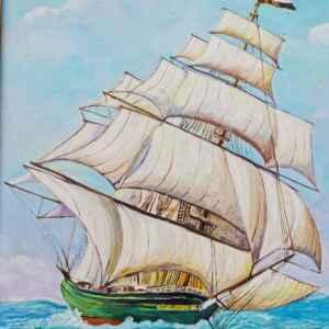 Картина с маслени бои на платно от Нидерландия, 20th century внос от Нидерландия