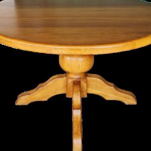 Трапезна кръгла маса от дъб – масив внос от Белгия