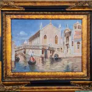Картина с маслени бои на платно внос от Нидерландия