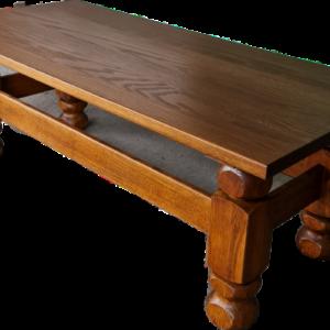 Холова маса – правоъгълна от дъб внос от Белгия
