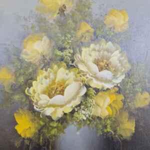Картина с маслени бои на платно от известен нидерландски художник Domburg, 20th century внос от Нидерландия.
