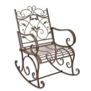 Люлеещ метален фотьойл нов, внос от Нидерландия.